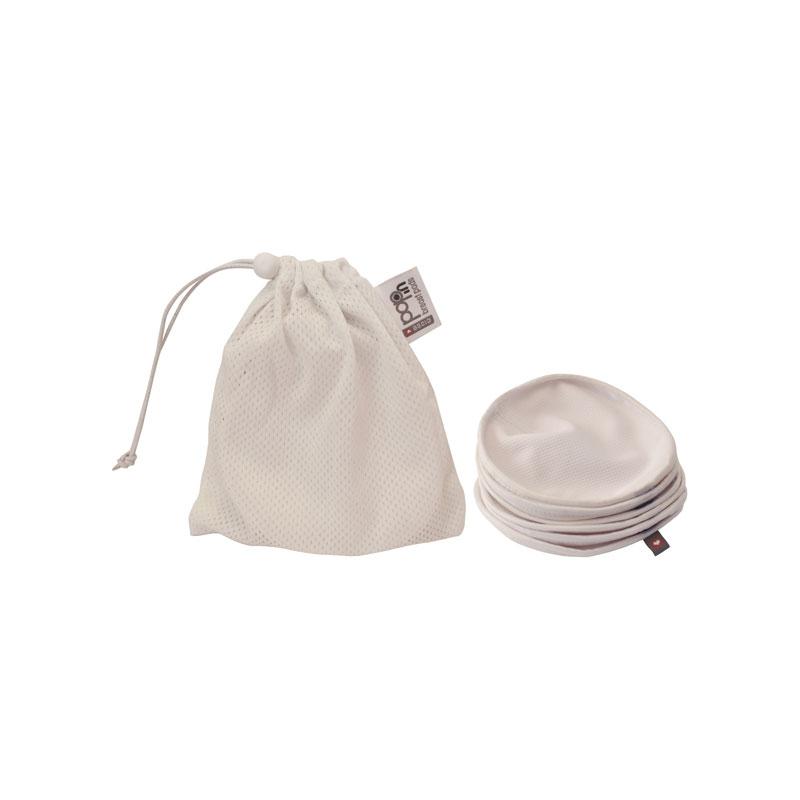 Discos de lactancia reutilizables de soja (6 Uds)