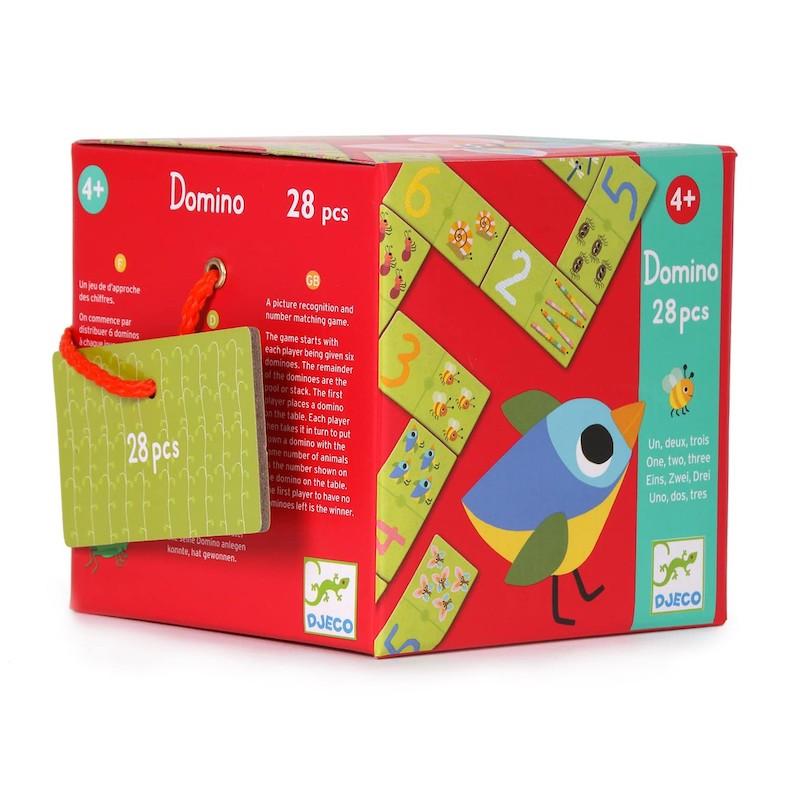 Domino Uno, dos, tres (28 pcs) - Djeco