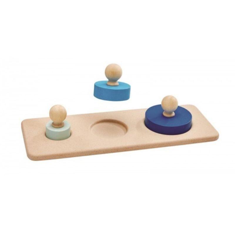 Encaja los círculos Plan Toys - Monetes