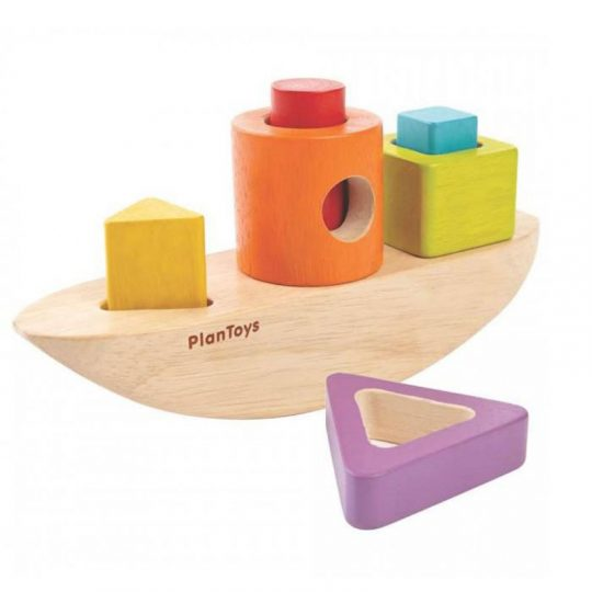 Barco encajable Plan Toys