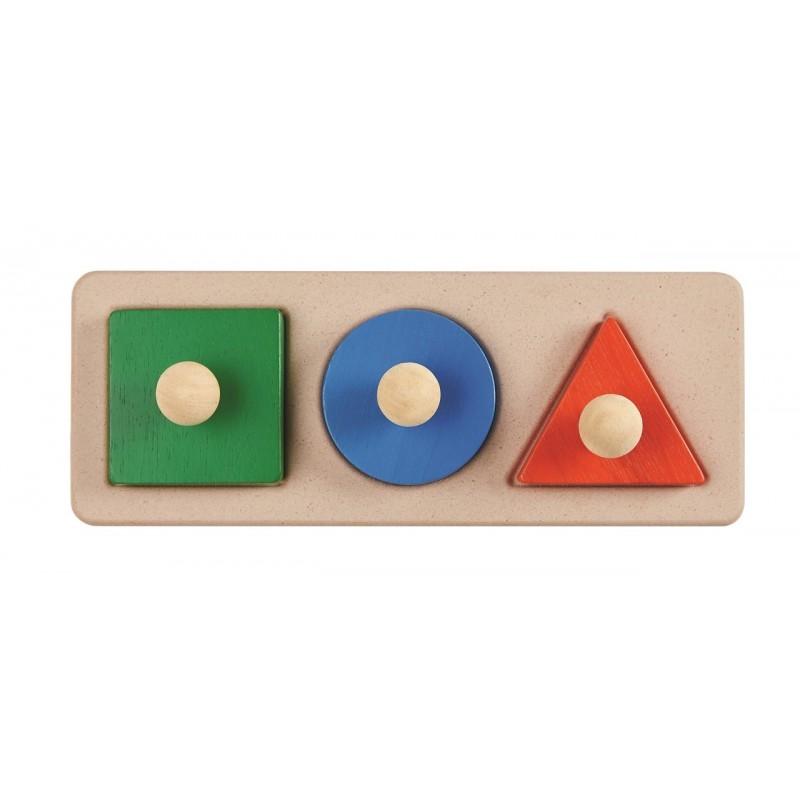 Encajable figuras geométricas Plantoys