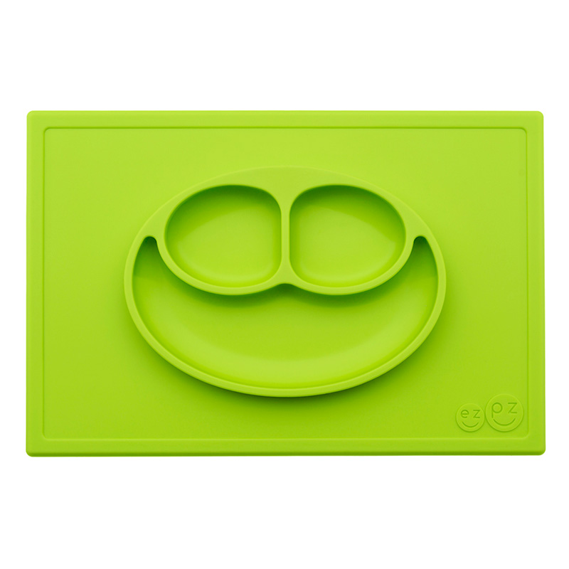 Plato antideslizante HappyMat Verde
