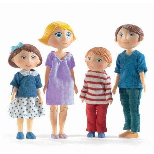 La familia de Gaspard y Romy