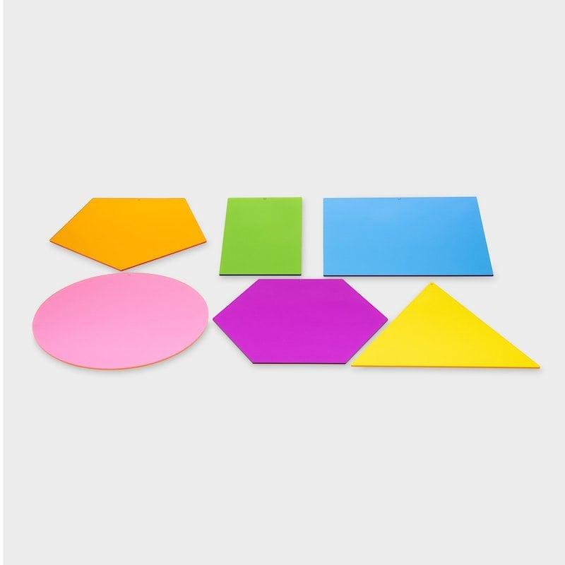 Figuras geométricas translúcidas - Tick It