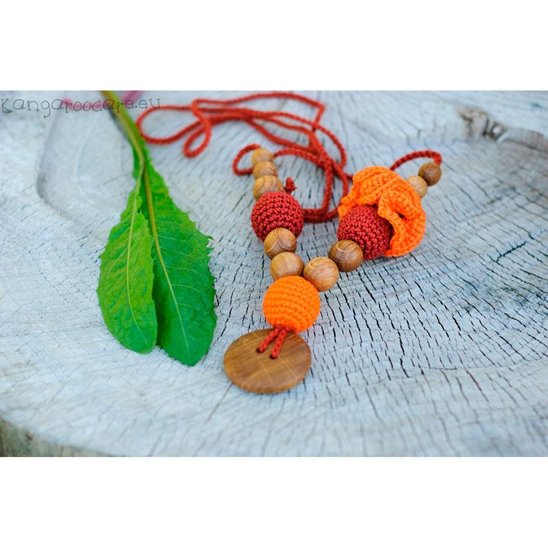 Collar de Lactancia Rusty Orange