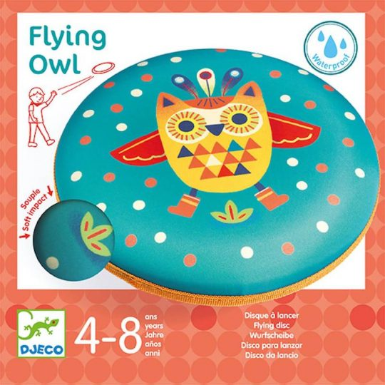 Flying owl disco volador