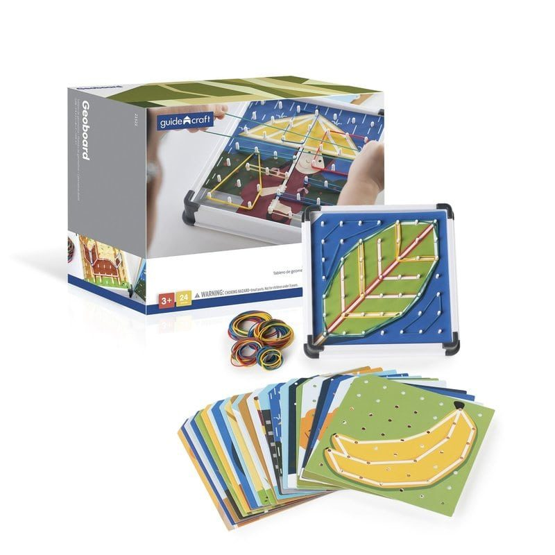 Geoplano Geo-Boards Guidecraft - Monetes