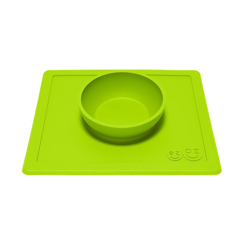 Cuenco antideslizante Happy Bowl Verde