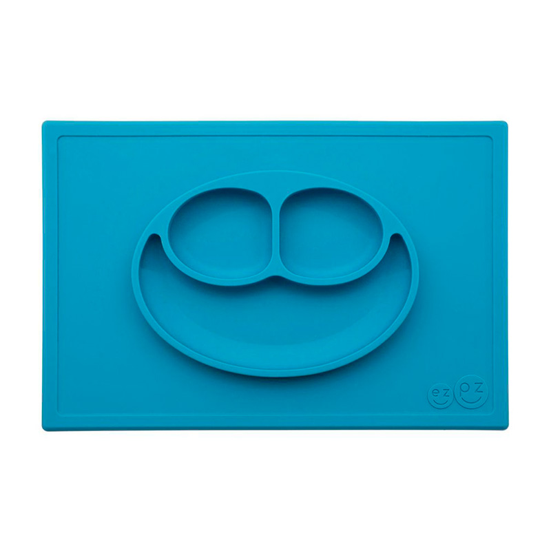 Plato antideslizante HappyMat Azul