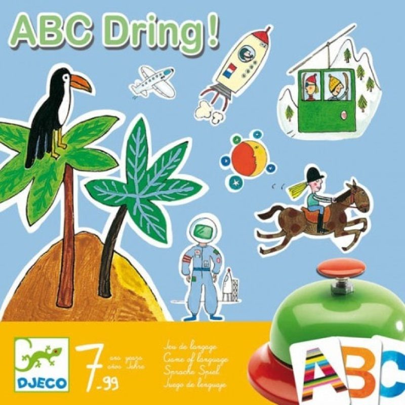 Juego ABC Dring, Djeco