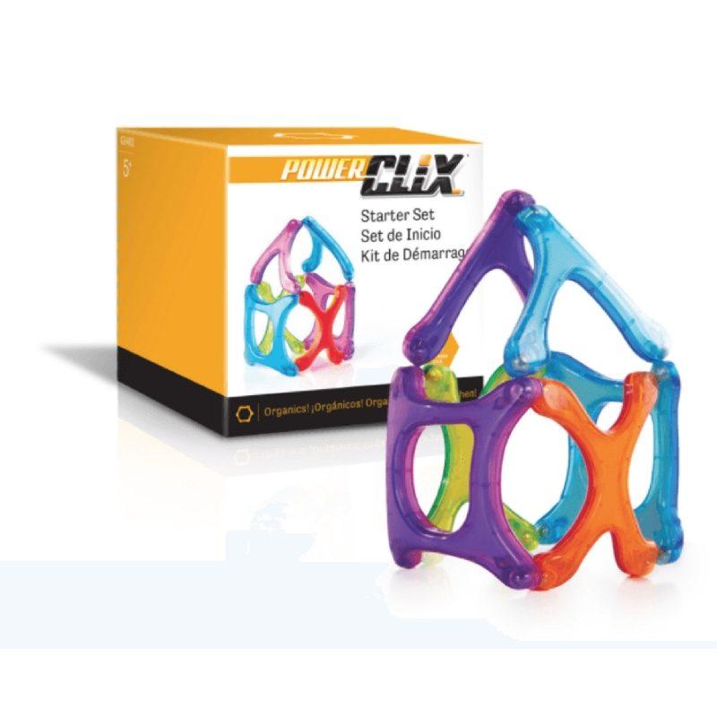 Juego de construcción Power Clix organics 6 piezas