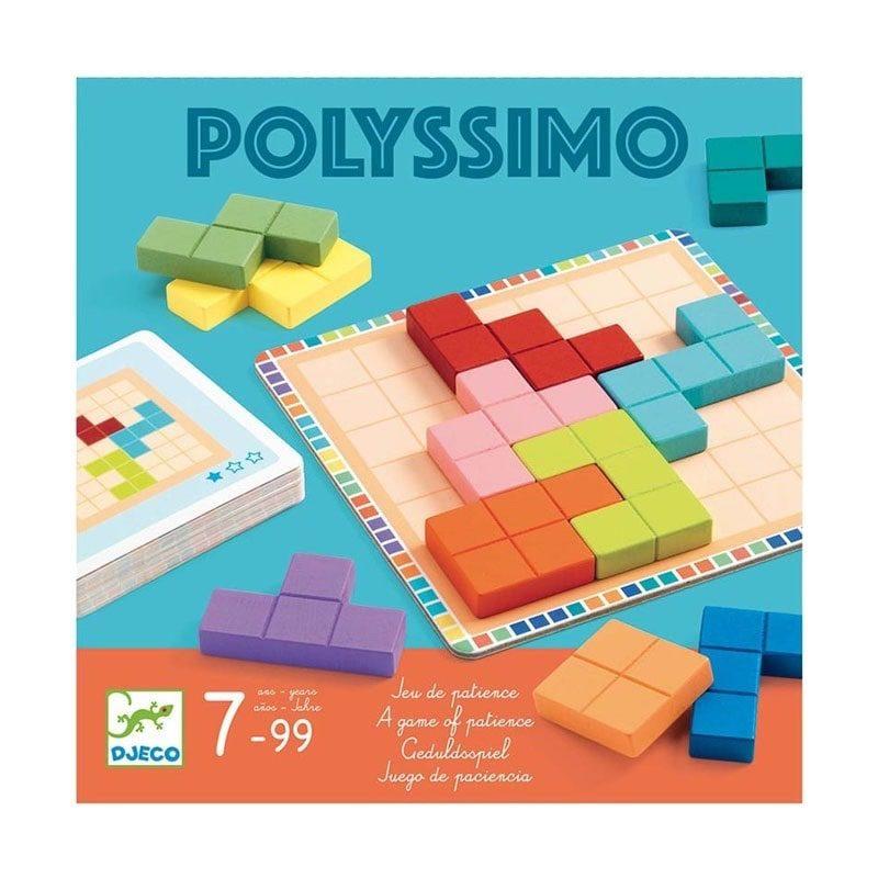 Juego de lógica Polyssimo, de Djeco