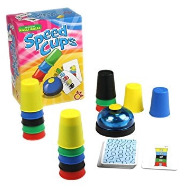 Juego Speed Cups, de Mercurio