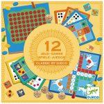 12 juegos de mesa clásicos, Djeco