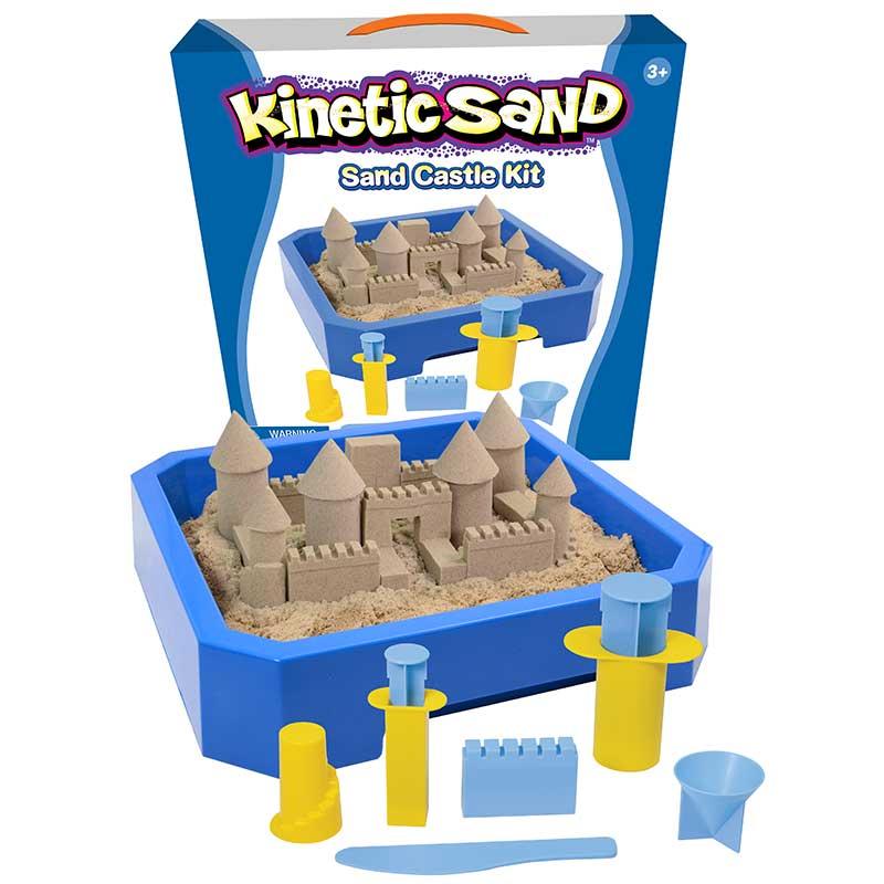 Arena mágica. Kit completo para hacer castillos.