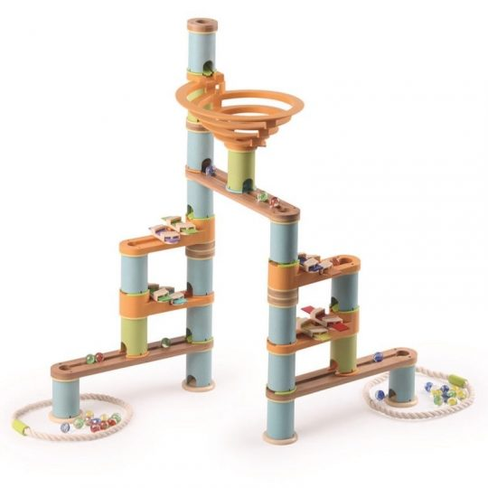 Circuito de canicas musical - Bamboo Planet -