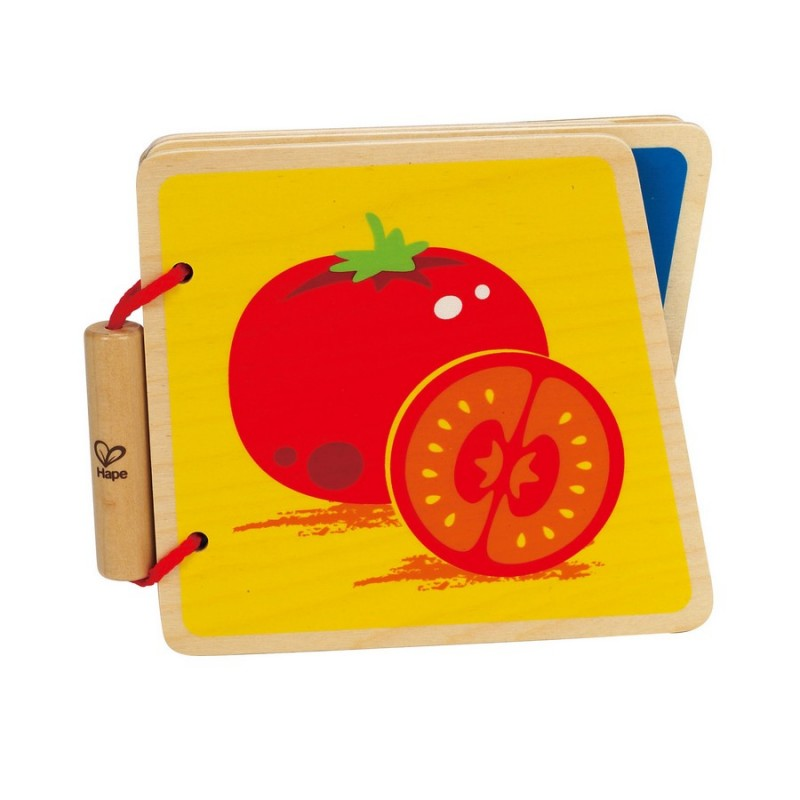 Libro para bebé Frutas
