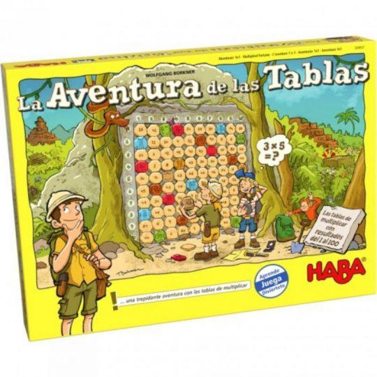 La aventura de las tablas