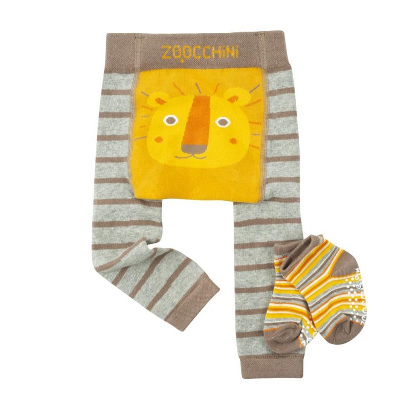 Set Legging de gateo + calcetines antideslizantes Zoochini - varios modelos/tallas -