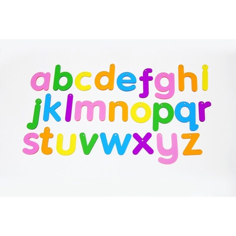 Letras de colores de metacrilato, TickIt