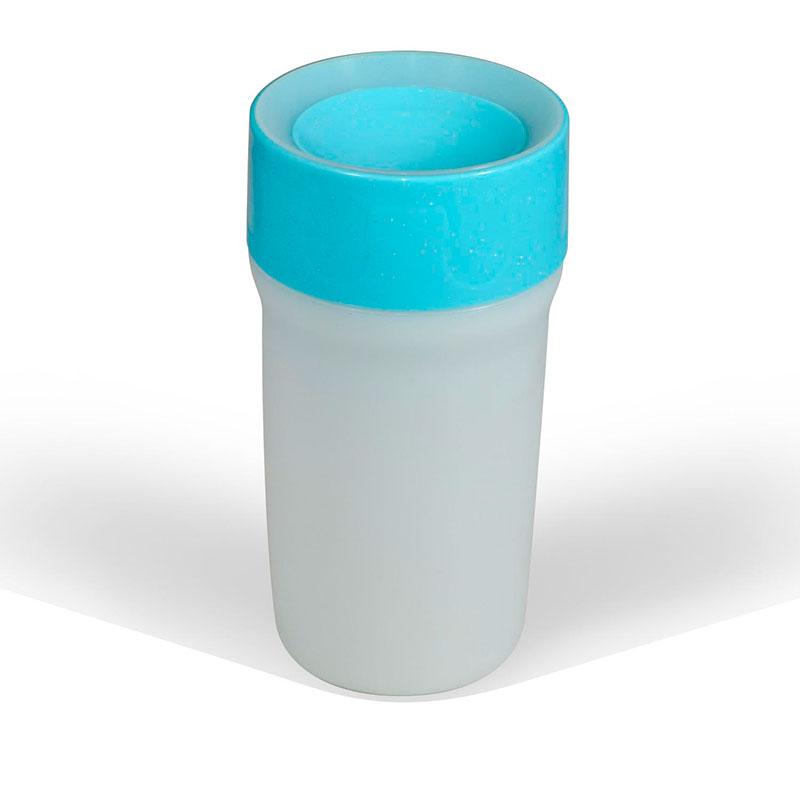 Vaso LiteCup (con luz Led) - Azul Frozen -