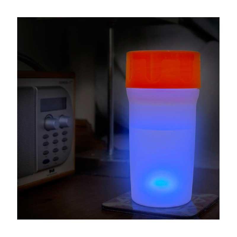 Vaso LiteCup (con luz Led) - Rojo -