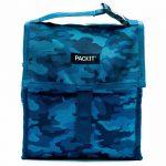 Bolsa portalimentos congelable Lunch Bag Camu Azul 4'4L.