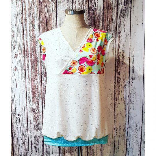 Camiseta Lactancia M/L -Frutas-