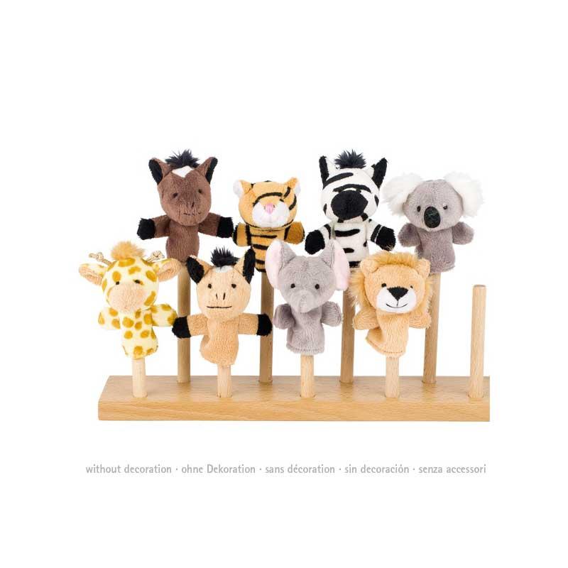 Marionetas de dedo - Animales Salvajes