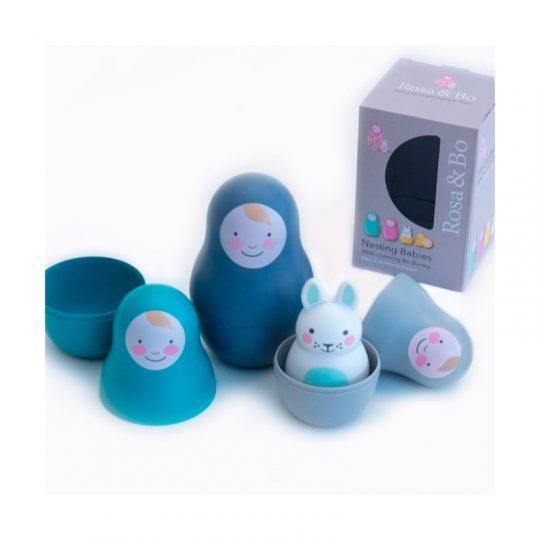 Matrioskas Bo Bunny Azul