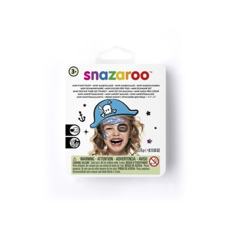 Mini kit de maquillaje de pirata, Snazaroo
