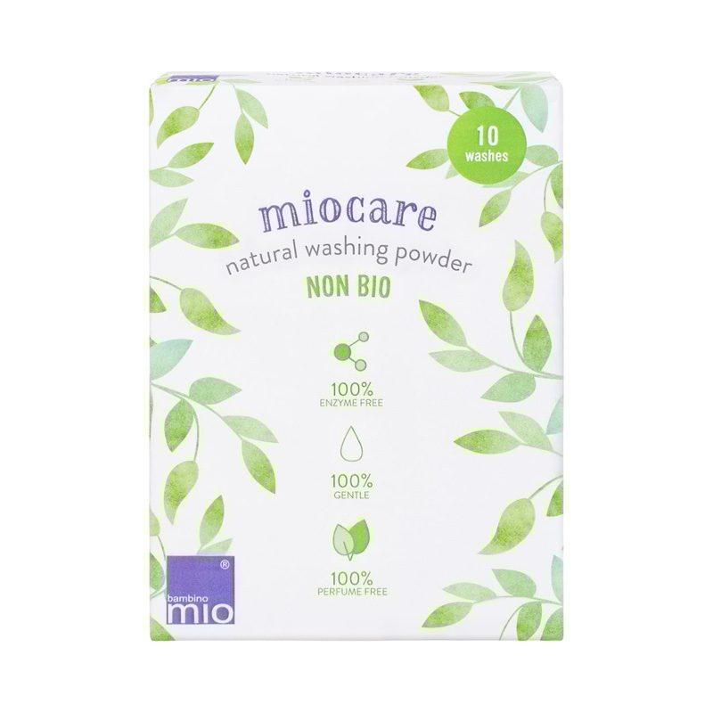 Detergente natural en polvo Miofcare, de Bambino Mio
