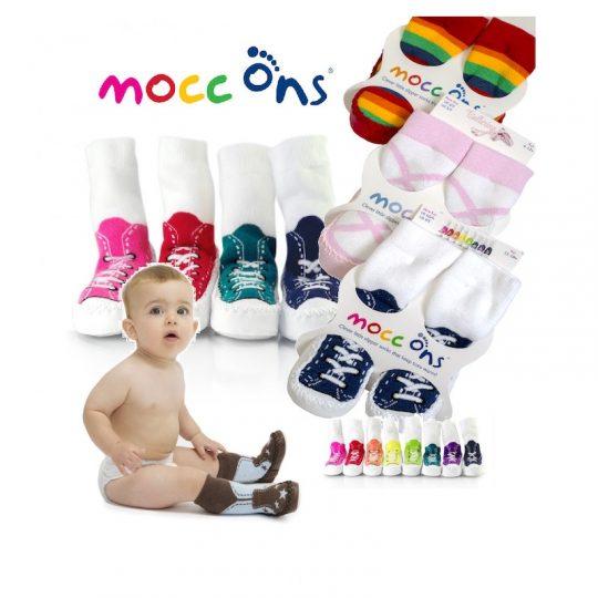 Zapatillas suela blanda Mocc Ons - Varios modelos -