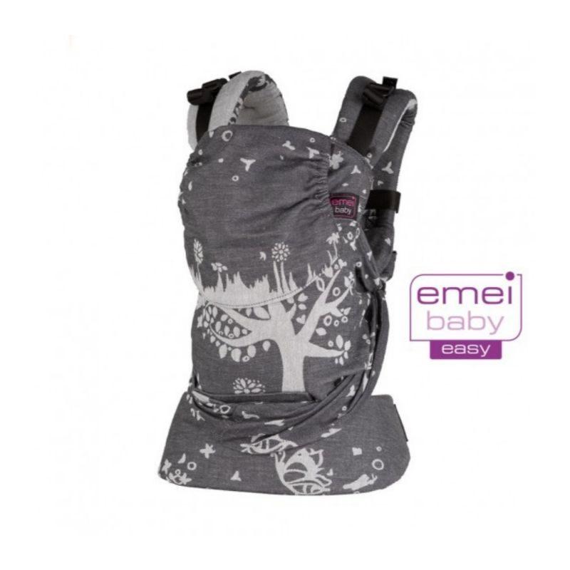 Mochila Emeibaby Easy Treemei gris- Monetes
