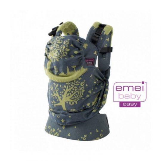 Mochila Emeibaby Easy - Treemei verde y azul -