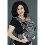 Mochila ergonómica evolutiva Neko Switch Efes Paisley Hazel Oscuro
