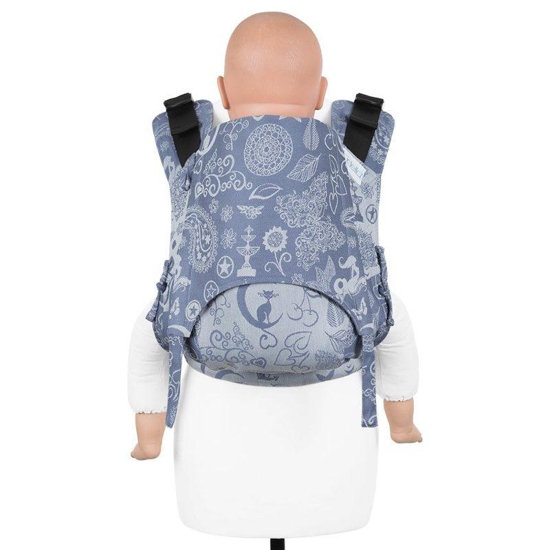 Mochila ergonómica evolutiva Fidella Fusion 2.0 Toddler Medley Serenity Blue