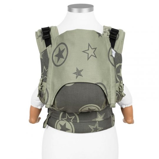 Mochila Fidella Fusion 2.0 Outer Space - Verde - Toddler