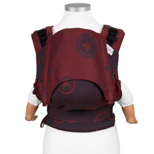 Mochila Fidella Fusion 2.0 Outer Space - Rojo Oscuro - Toddler