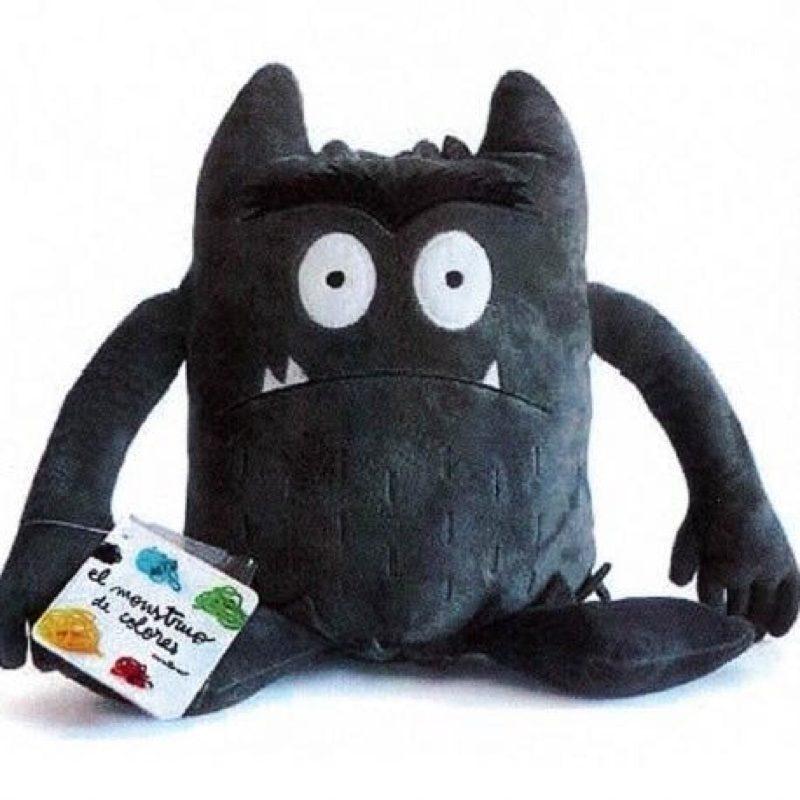 El Monstruo de Colores, Peluche gris (miedo)
