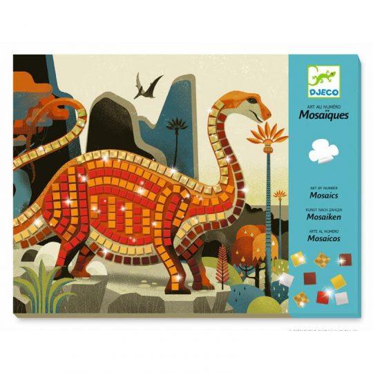 Mosaico dinosaurios