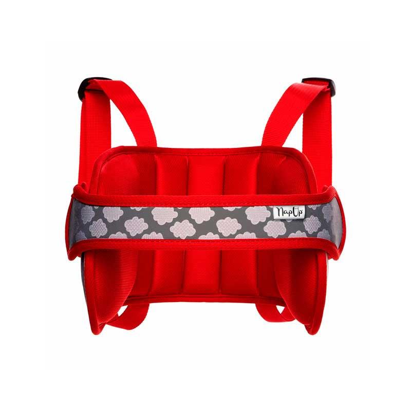 NapUp. Sujetacabezas para silla del coche - Rojo -