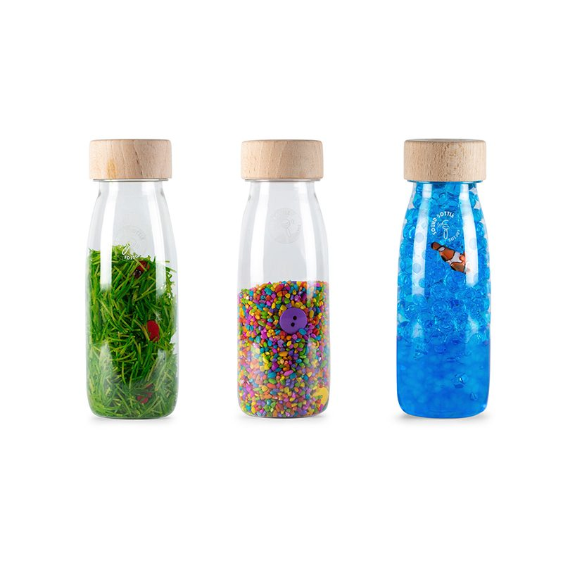 Pack 3 botellas sensoriales - Eco -