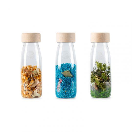 Pack 3 botellas sensoriales - Nature -