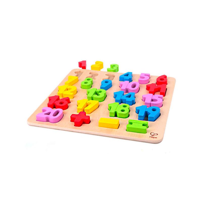 Puzzle Números