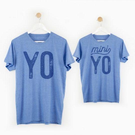 Kit camisetas 'Yo-miniyo'