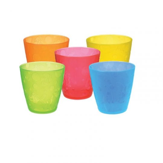 Pack vasos multicolor