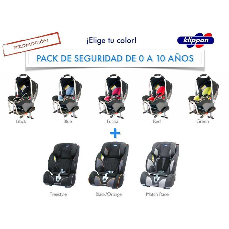 Pack Safety. Dinofix (G.0) + Triofix Maxi (1/2/3)