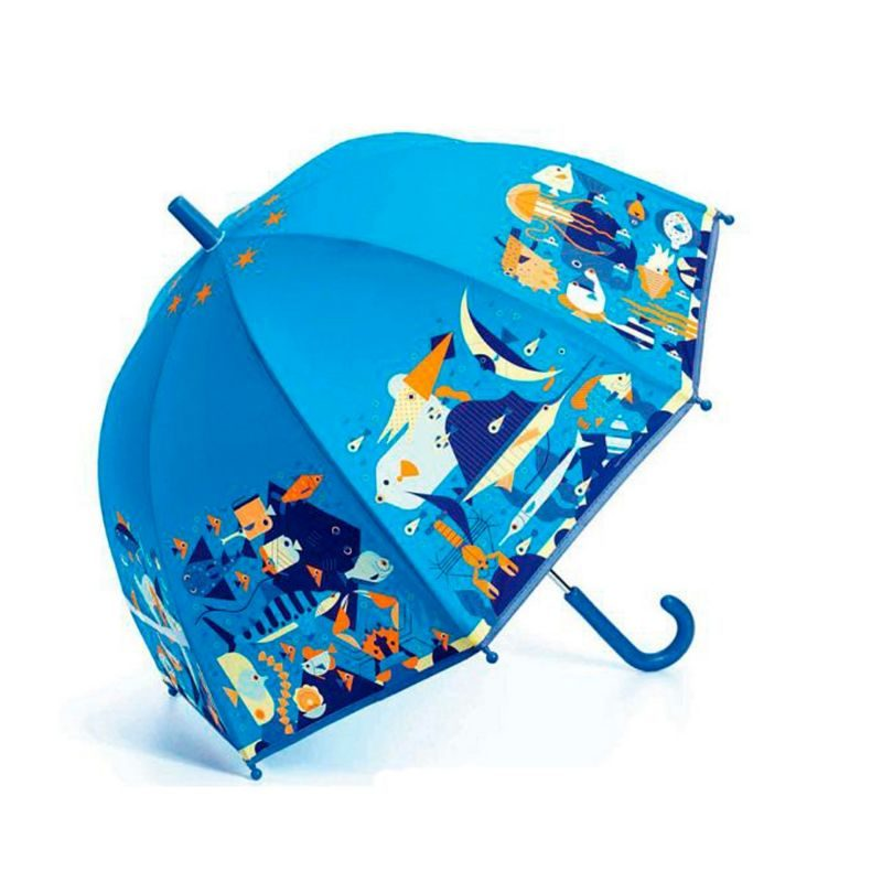 Paraguas mundo marino Djeco - Monetes