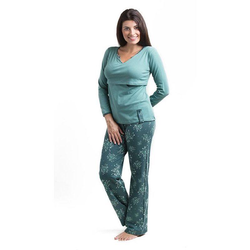 Pijama de lactancia modelo Loreto, Árbol de Amor